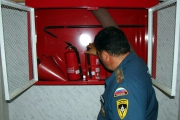 Проверка по пожарной безопасности в МБДОУ.